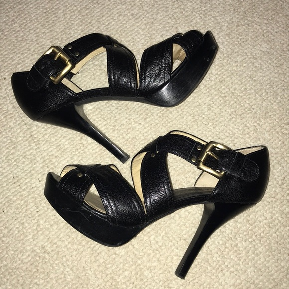 Michael Kors - Michael Kors - Black Party Heels from Susie's ...
