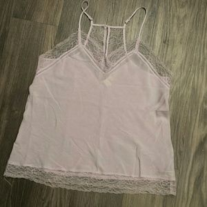 Eloise lace trimmed cami. Xs