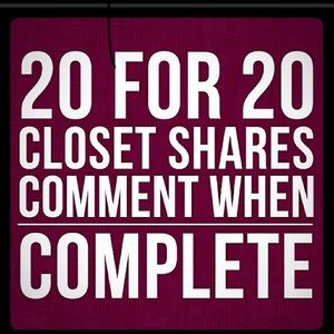 Other - LET'S HAVE A SHARE FEST! 20 for 20...