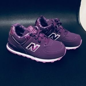 Purple Toddler New Balance Shoes!!!!