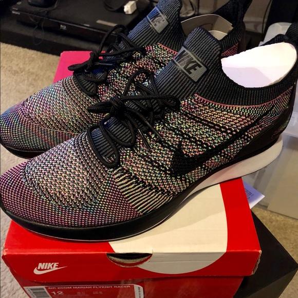 eb7a77e666 Nike Shoes | Zoom Mariah Flyknit Racer Sz12multi Nwb | Poshmark