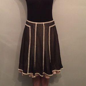 Cynthia Steffe Silk Skirt