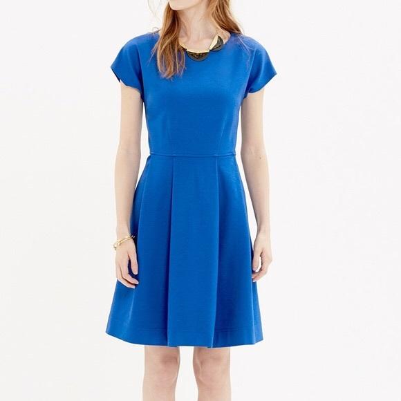 Madewell Dresses & Skirts - Madewell Matinee Royal blue pleated dress