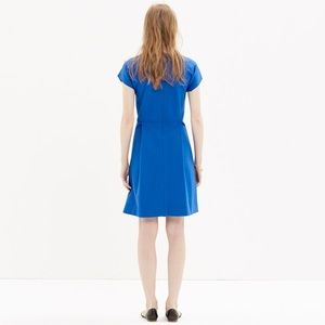 Madewell Dresses - Madewell Matinee Royal blue pleated dress