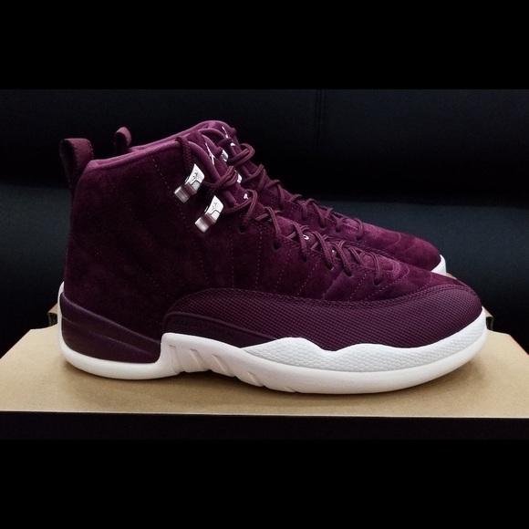 138b47b950f36b Jordan 12 Bordeaux