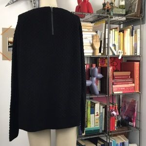 French Connection Sweaters - French Connection Textured Back Zip Sweater