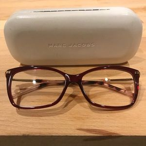 0d18a4af8a3e Marc Jacobs Other - Marc Jacobs Marc63 Burgundy Eyeglass Frame