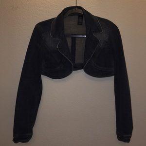 DKNY Jeans; Half Jean Jacket; Medium