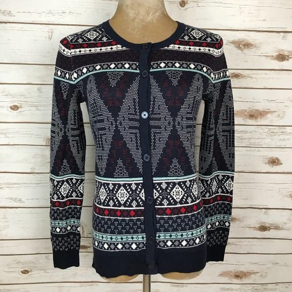 nwt merona target christmas sweater cardigan - Target Christmas Sweater