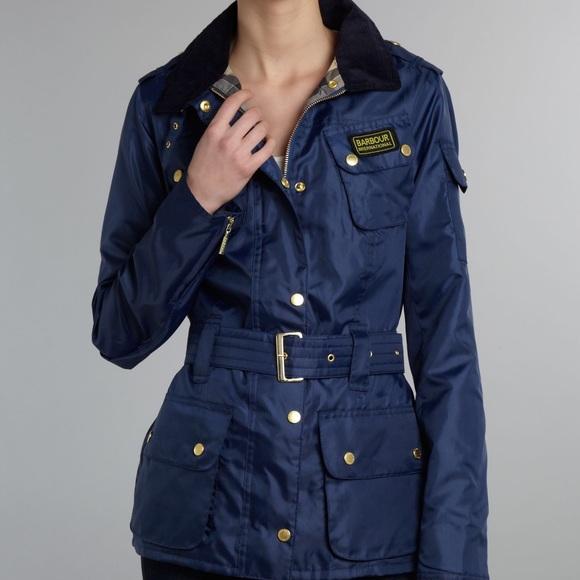 869d6f5ef25ae Barbour Jackets & Coats   International Belted Jacket Us Sz 10 ...