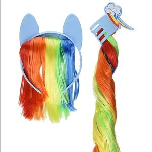 My Little Pony Rainbow Dash Headband & Pony Tail