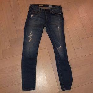 Size 26 AG Legging Ankle Jean