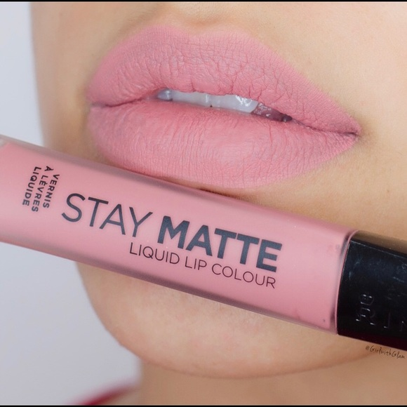 391755c2eda Rimmel Makeup | Stay Matte Liquid Lip Colour In Blush | Poshmark