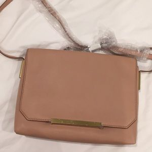 J. Crew purse in pale pink