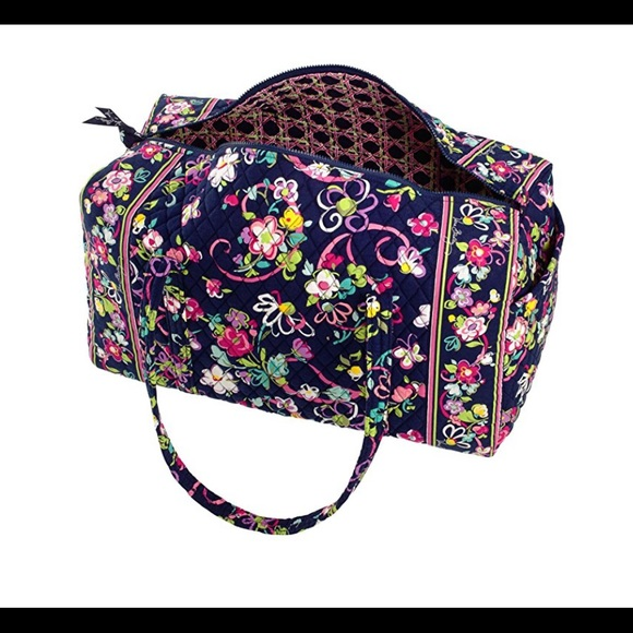 6e7b0c896e6a Vera Bradley Ribbons Large Duffel Bag Carry On. M 5a20e3b8ea3f36aace01ea51