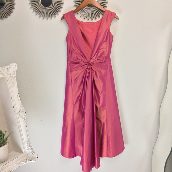 Laundry By Shelli Segal Dresses   Backview Gorgeous 100 Silk Holiday ...