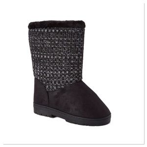 🎉FLASH SALE🎉 NO OFFERS 🎉Black Knit Boots