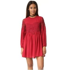 Endless Rose Lace Detailed Dress