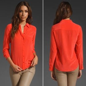 Equipment | Cayenne Silk Blouse