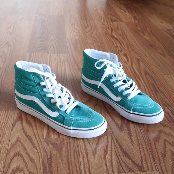 Vans Shoes | Vans Teal High Sk8hi Slim