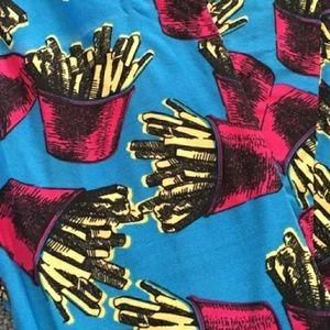 Lularoe french fries leggings