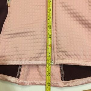 Nike Jackets & Coats - Nike Thermal Quilted Pink And Maroon Full ZipUp