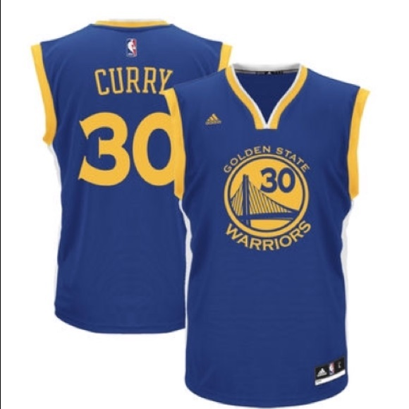 cdb63977fbf Golden State Warriors Stephen Curry Adidas Jersey