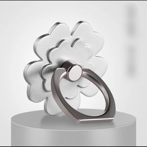 Accessories - Camellia Rose Phone Ring in silver