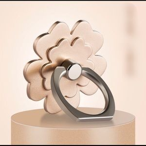 Accessories - Camellia Rose Phone Ring in gold