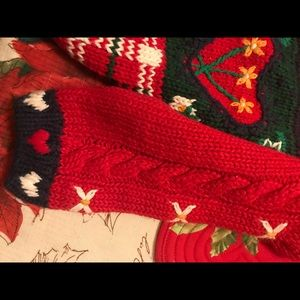 Shirts & Tops - Girls button down Christmas holiday sweater
