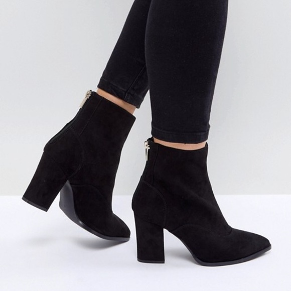 Wide Fit Pointed Ankle Boots | Poshmark