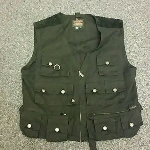 Ralph Lauren Fishing Utility Vest Multi Pockets L