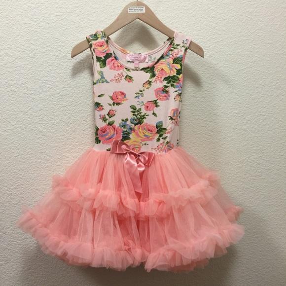 9812c5249 Popatu floral print tutu dress. M_5a2123a4713fde444000478f