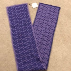 Accessories - Coach purple scarf