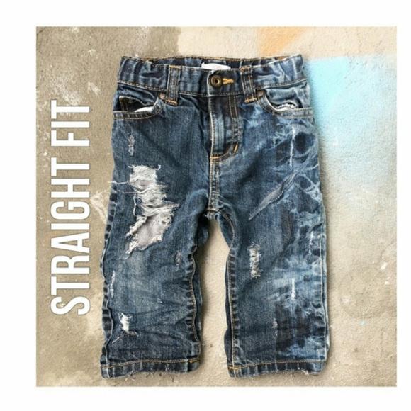 b43bfa785aa Joe Fresh Bottoms | Baby Boygirl Distresseddestroyedripped Jeans ...