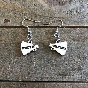 3 for $25 Handmade Cheer Dangle Earrings