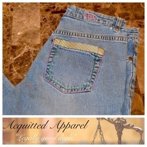 "(Lilly Pullitzer) Vintage Jeans 31"" inseam"