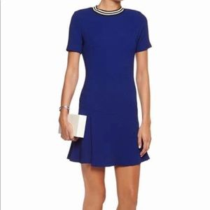 Sandro Royal Blue Mini Dress