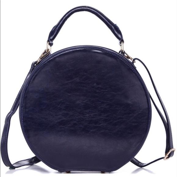 Handbags - Vintage style hat box satchel