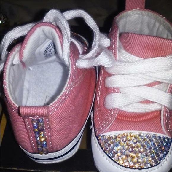 Baby Rhinestone Sneakers 545cf4347