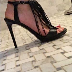 5c544175452 Kendall + Kylie Aries Fringe High Heel Sandals! NWT