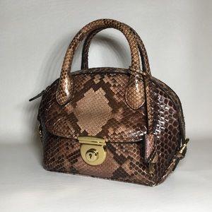 1d563bdf4ac5 Salvatore Ferragamo Bags - 🛑49% OFF⁉️Salvatore Ferragamo Python Mini Fiamma