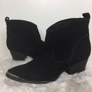 CHINESE LAUNDRY Suede Ankle Boots