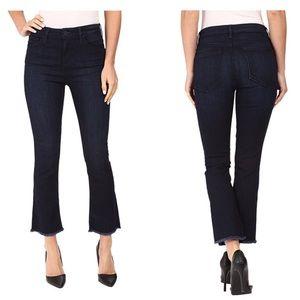 Sanctuary Denim Jolie Crop Fray Jeans 31