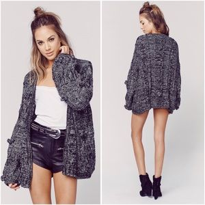 for love & lemons | braided cable cardigan