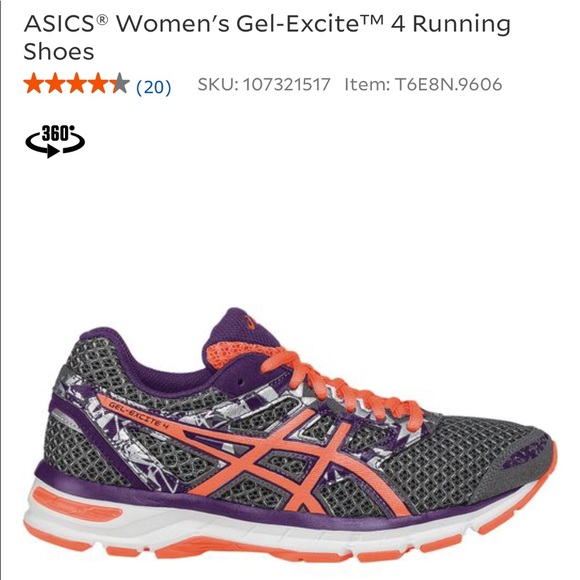 9fe34f1d8611 Asics Shoes - ASICS Women s Gel-Excite 4 Running Shoes