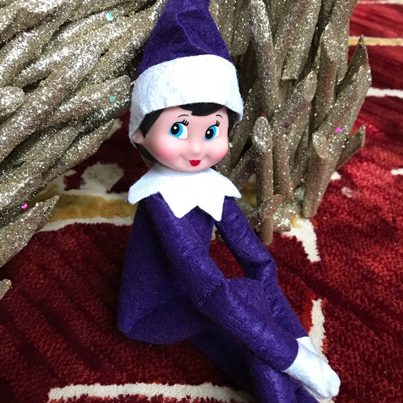 Other Sale New Purple Elf On The Shelf Poshmark