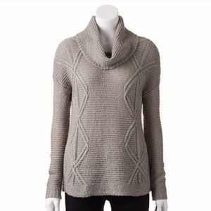 Sonoma Cowl Neck Sweater