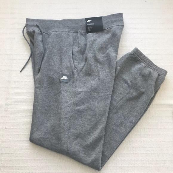 39fabf9fb667 Women s Nike Sportswear Gray Rally Loose Pants