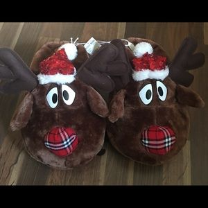 adult christmas slippers 56 new